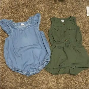 Old navy one piece.